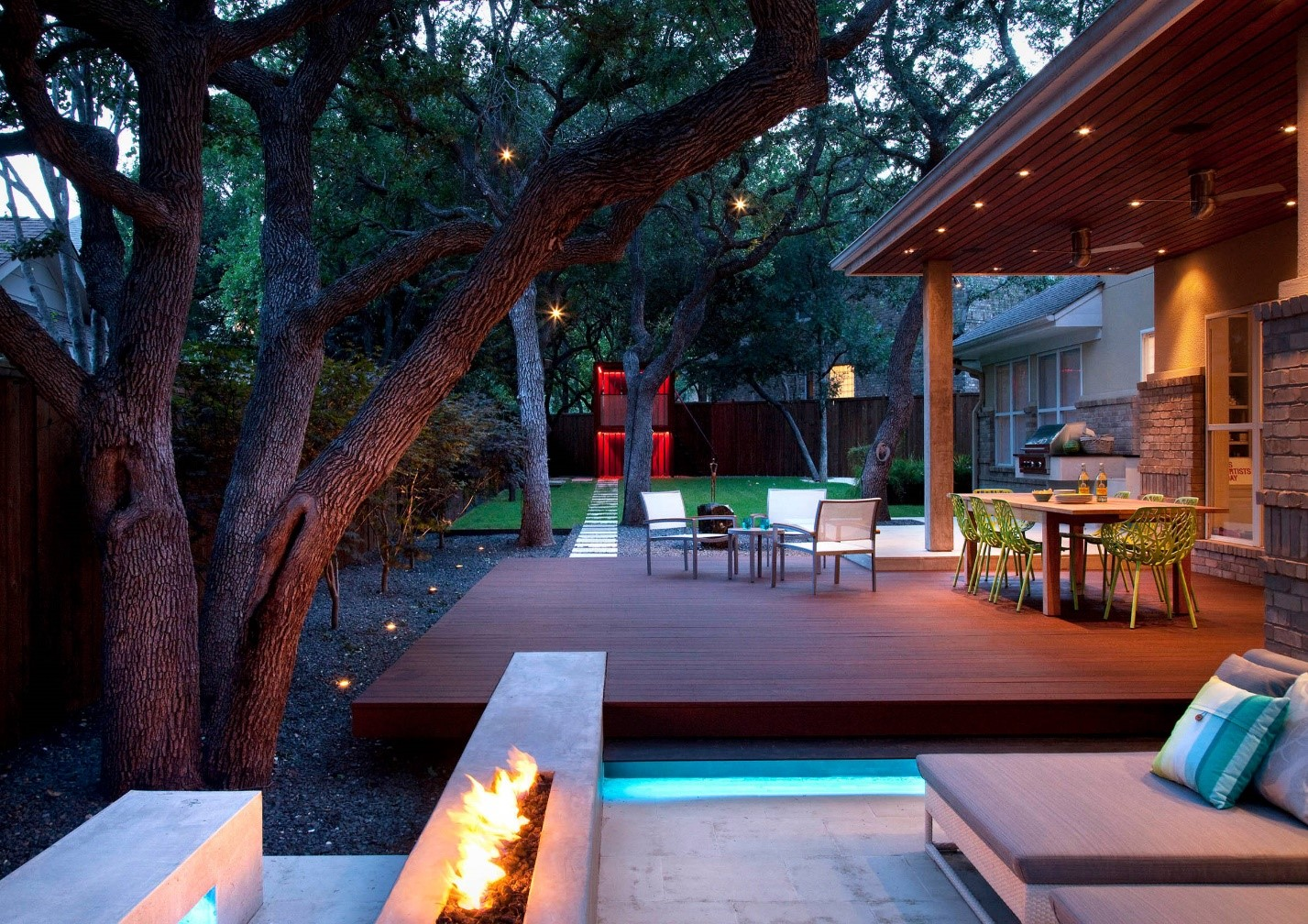 Making the most of your Backyard during Freezing Weather