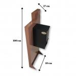 Metal Mailbox – Caramel JHC - 6018