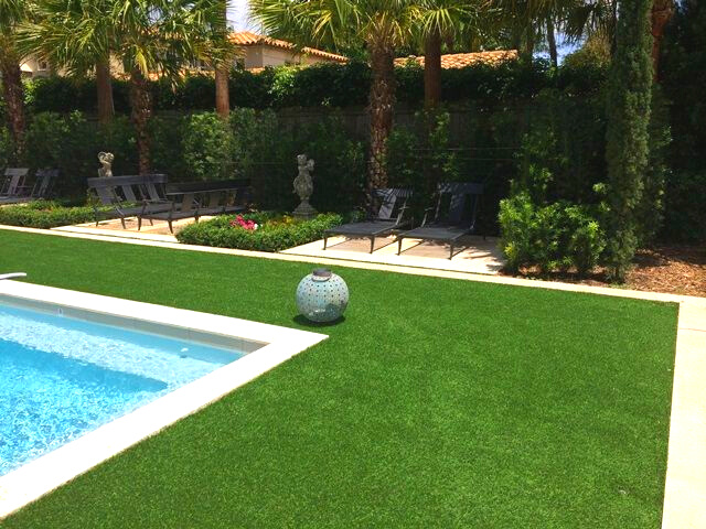 Spice Up Your Pool Area with Artificial Turf