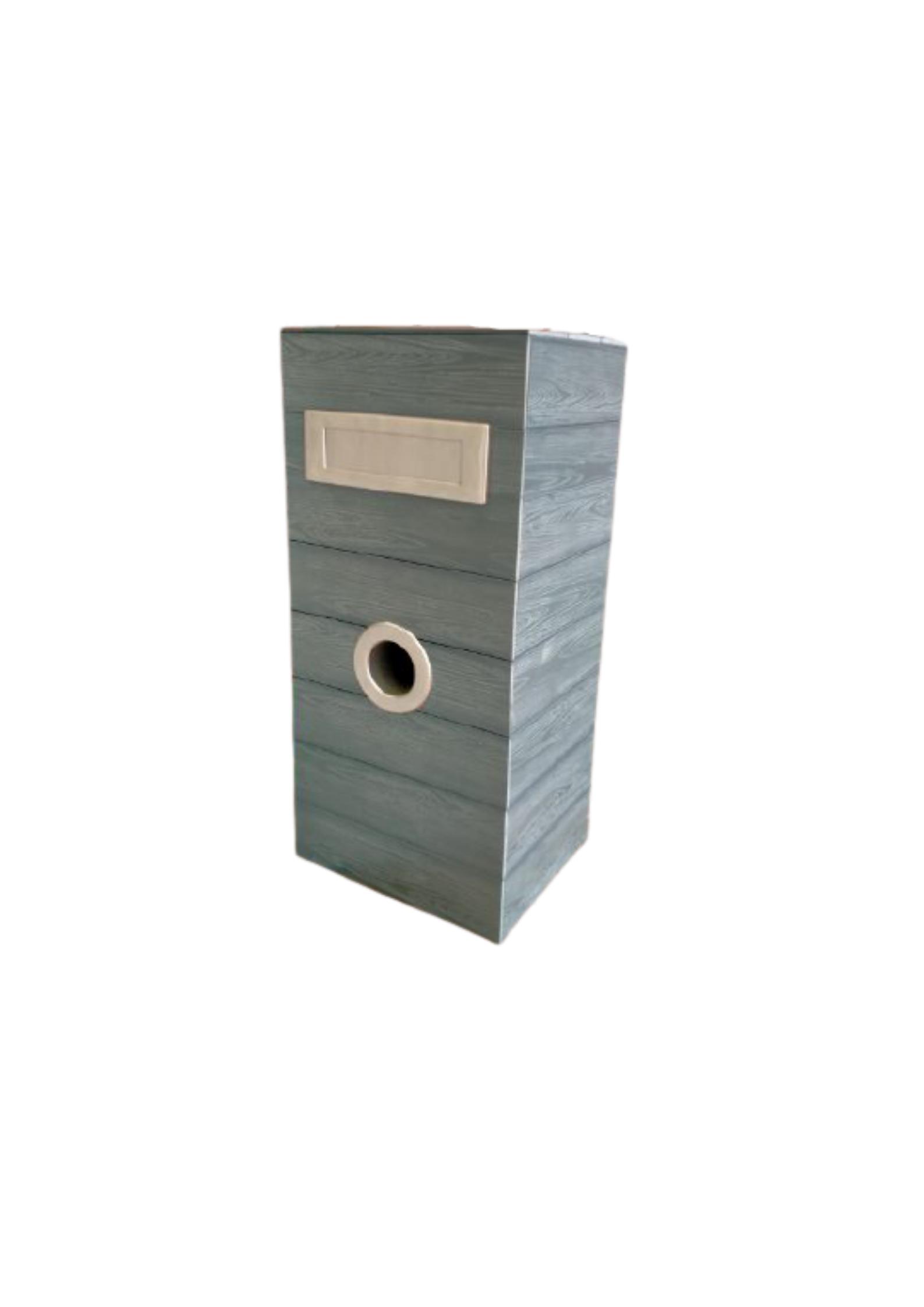 Steel Metal Mailbox Grey - 6011