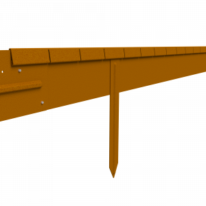 100mm StraightCurve FlexLine 2.2m Long