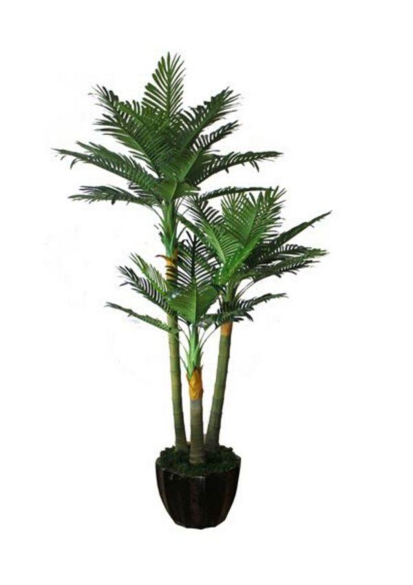 Lipstick Palm Artificial Plant
