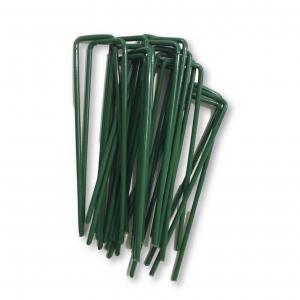 150mm U Pins Green (Pack of 50)