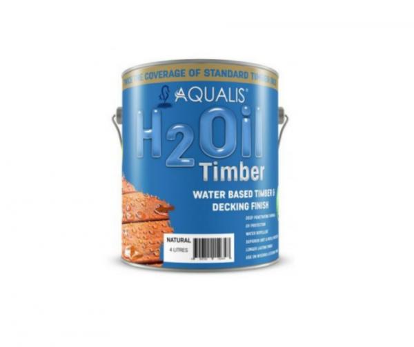 AQUALIS - H2 Oil Natural Gloss - 4Lt