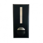 Brick Insert in Letter Box Black with Rear Opening NB 6015