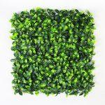Leafy Gold Artificial Hedge Tile 50 x 50 CM