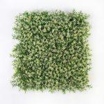 White Flower Artificial Hedge Tile 50 x 50 CM