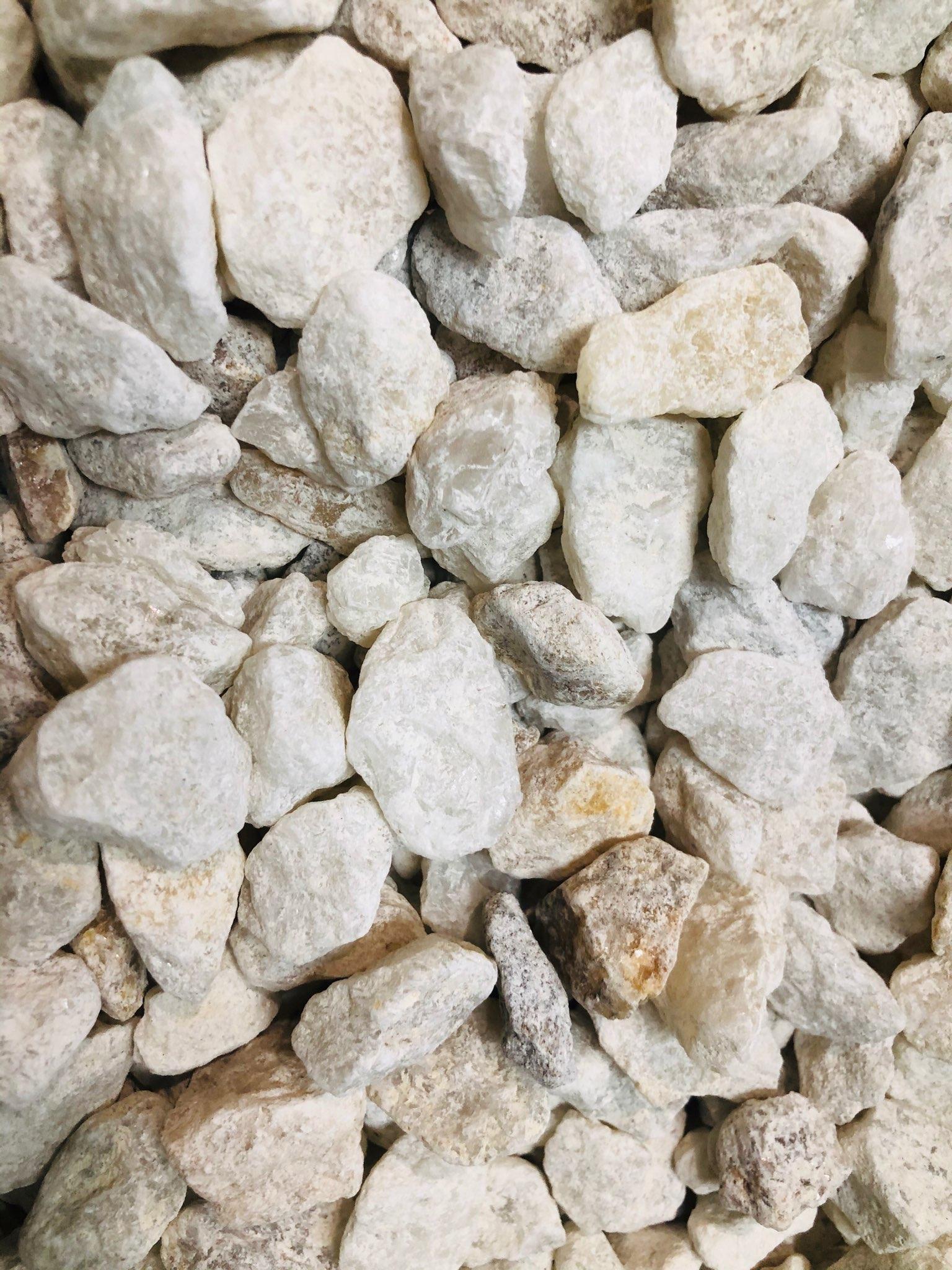 Ice White Pebbles 20mm