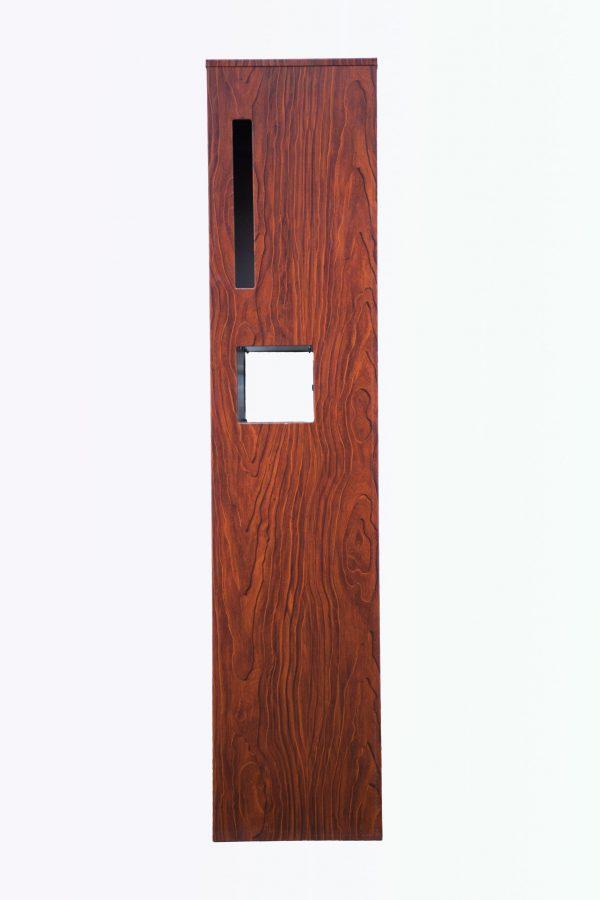 Metal Mailbox - Steel Wood JHC-9702W