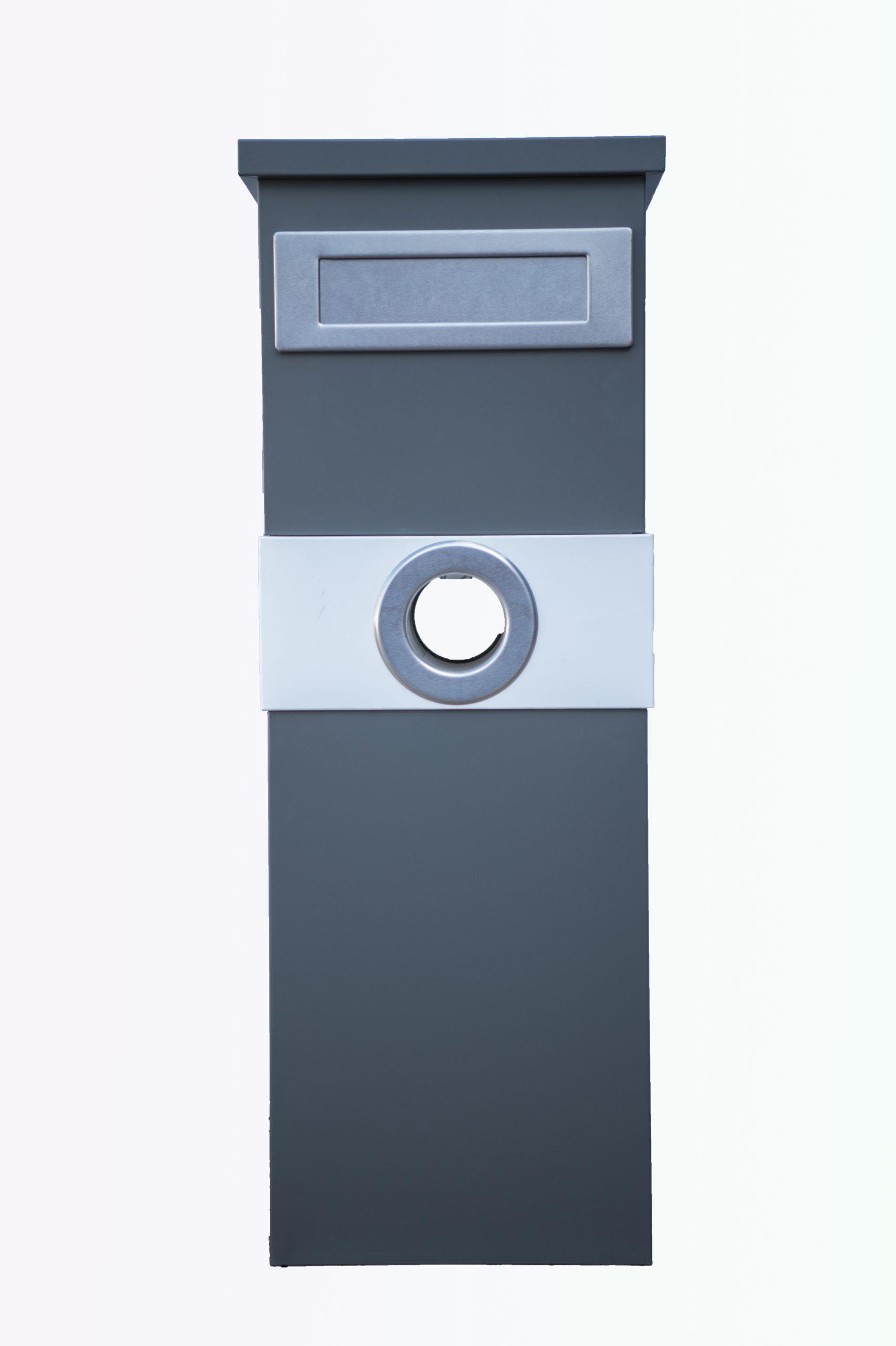 Metal Mailbox – Steel Grey JHC-6003 Melania Grey