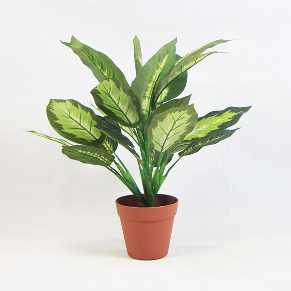 Green Apple Leaf Artificial Plant