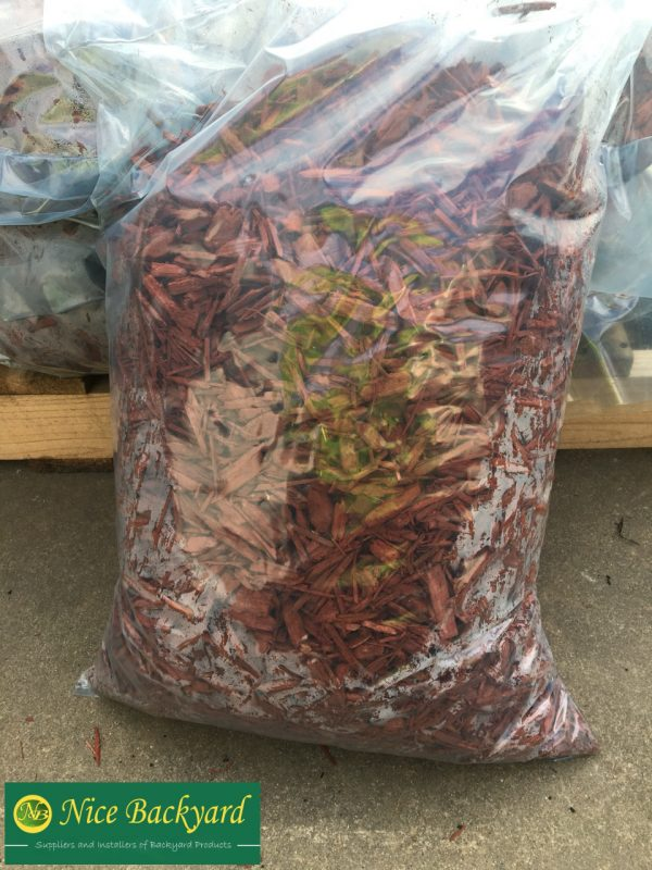 Red Mulch 40L Bag
