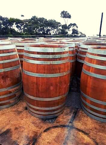 Wine Barrels 225 Whole