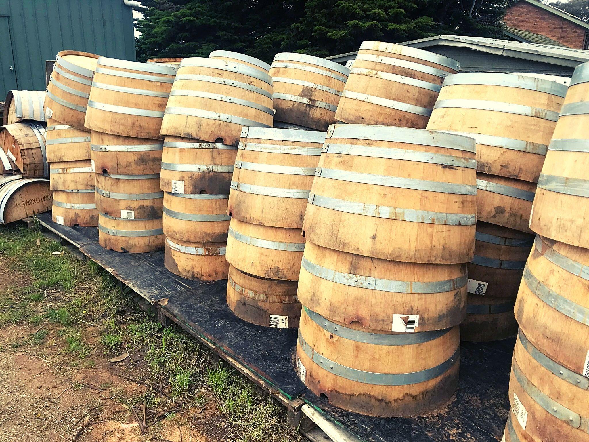 Wine Barrels 225 Half