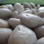 High Polished Super White Pebbles
