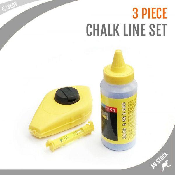 15m Chalk Line Reel with Line Leveler